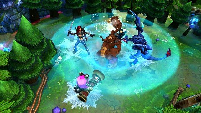 Das beliebte Onlinespiel League of Legends