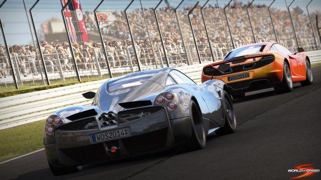 In World of Speed sammelt ihr auch Erfahrungspunkte, wenn ihr nicht gewinnt.