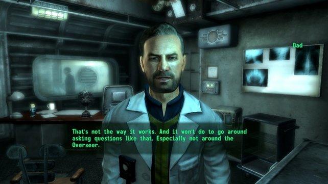 In Fallout 3 beginnt euer Abenteuer im Bunker.