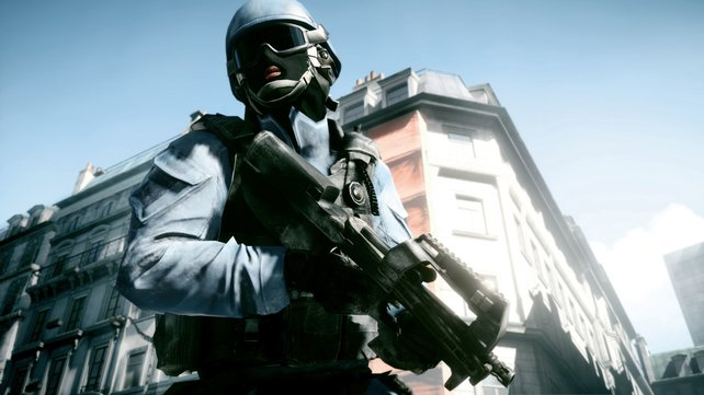 In der Einzelspieler-Kampagne steuert ihr einen amerikanischen Soldaten.