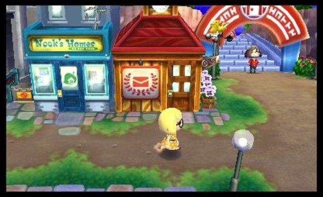 In der Einkaufsmeile findet ihr jede Menge Gelegenheiten eure Sternis auszugeben.