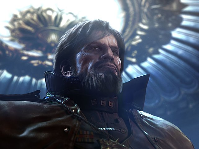 Arcturus Mengsk, Kaiser der Terranischen Liga.