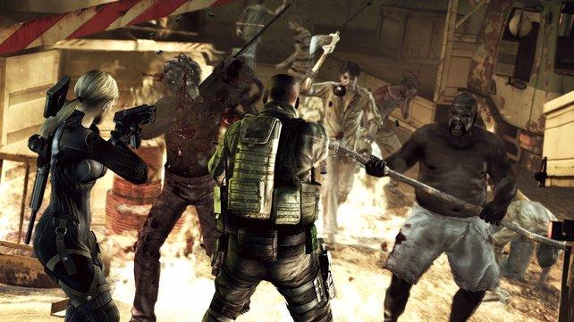 Es wird verdammt actionreich - hirnlose Schlurf-Zombies sind passé.