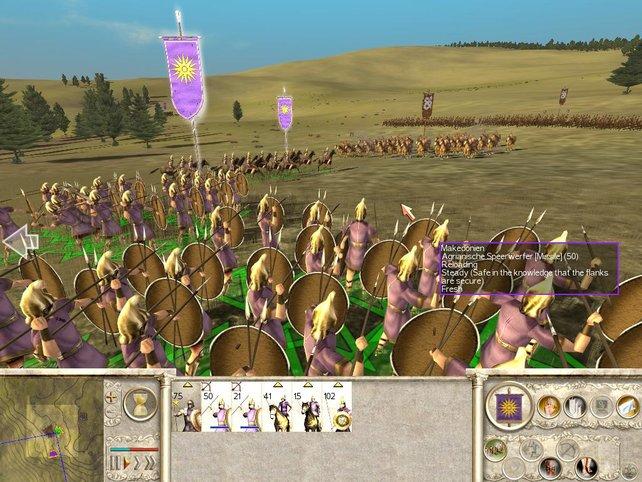 Nutzt die Kavallerie sinnvoll aus.