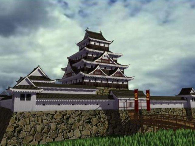 Ein Schloß das wichtigste Gebäude im Spiel.