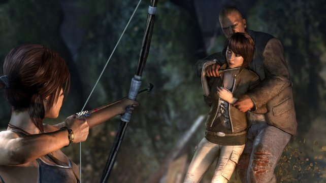 Das neue Tomb Raider: Ganz schön finster.