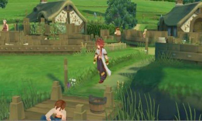 Die Grafik haben die Entwickler sauber von PS2 auf 3DS übertragen.