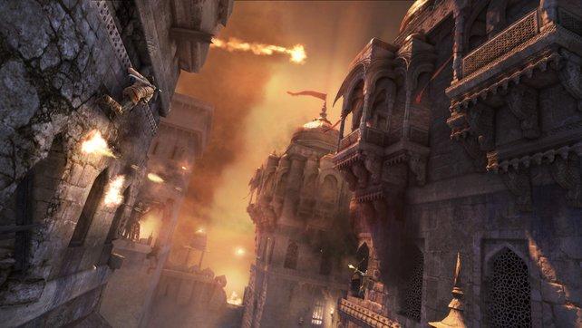 Wer die Kletterei nicht mag, ist bei Prince of Persia definitiv falsch.