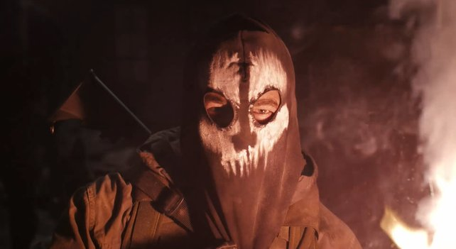 Die Masken dienen auch als Erkennungszeichen.