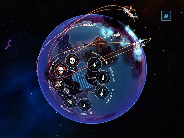 Wehrt gegnerische Atomraketen mit Cruise Missiles ab, bevor eure Ländereien zerstört werden.