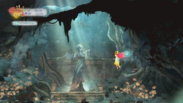 Ein Spiel wie ein Gemälde. Child of Light beweist, dass 2D-Optik noch lange nicht tot ist.