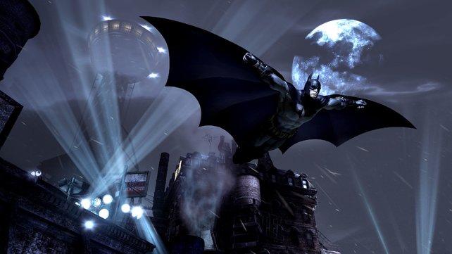 Batman ist wieder da und muss sich einer ganzen Stadt von Verbrechern stellen: Arkham City.