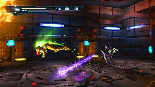 Metroid Other M spielt ihr hauptsächlich aus der Seitenansicht - technischer Rückschritt oder gekonntes Stilmittel?