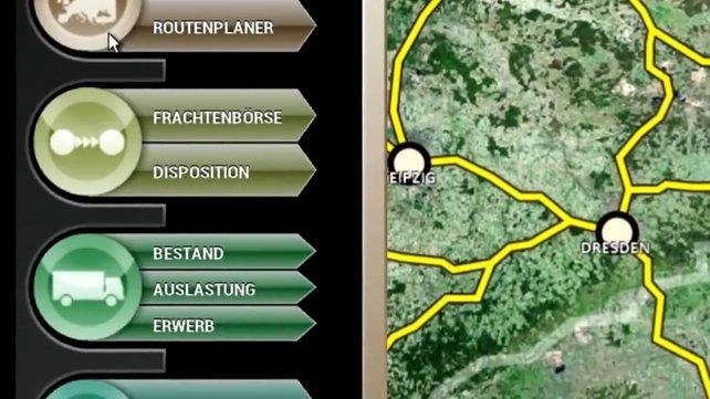 Im Planer 5 gibt es vieles zu planen. Zum Beispiel die Fahrtrouten.