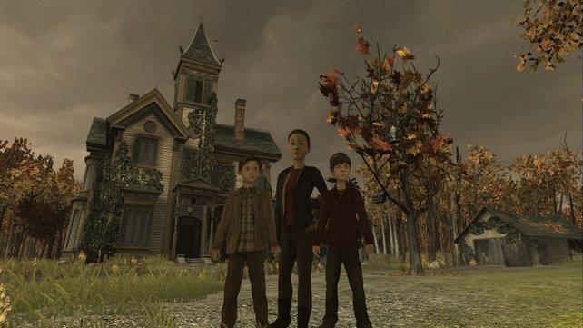 Die drei Kinder Jared, Simon oder Mallory