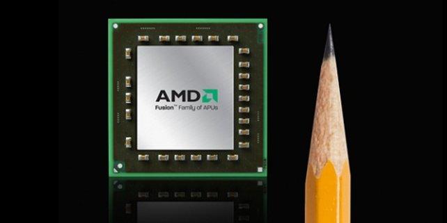 Unter anderem ist ein winziger Prozessor von AMD verbaut.