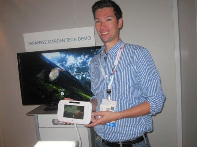 spieletipps-Chefredakteur Philip hat auf der letztjährigen Spielemesse E3 bereits mit dem Touchpad-Controller gespielt.