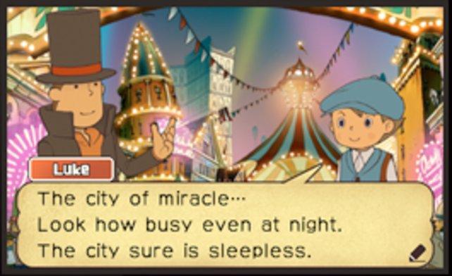 Was geschieht in der Stadt der Wunder?