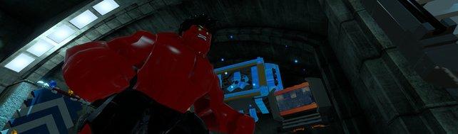 Auch weniger bekannte Charaktere wie der rote Hulk schaffen es ins Spiel.