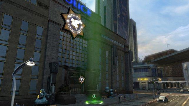 Polizeistationen sind die Hauptquartiere der Helden.