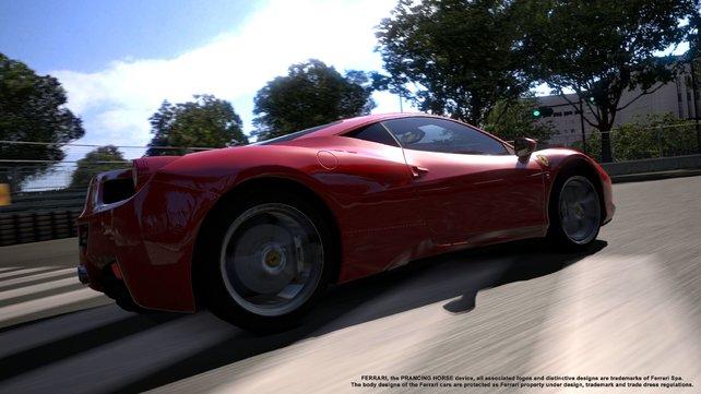 Endlich! Ferrari! Wir lieben dich!