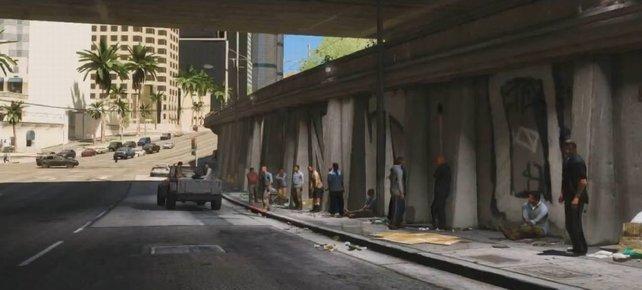 Drogen, Waffen, Schmuggel: In Los Santos floriert der Schwarzmarkt.