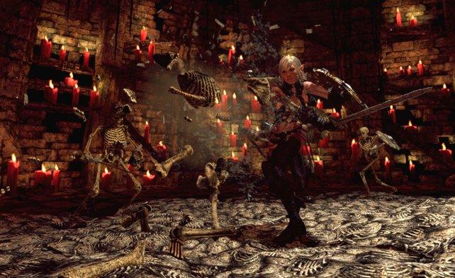 Was wäre ein Fantasy-Spiel ohne Skelette?