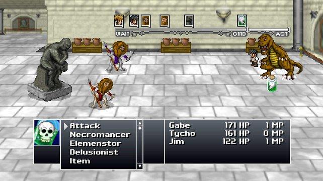 Hier werden Erinnerungen an Final Fantasy wach.