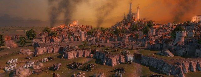Age of Wonders 3 bietet stimmungsvolle Fantasy-Schlachten.