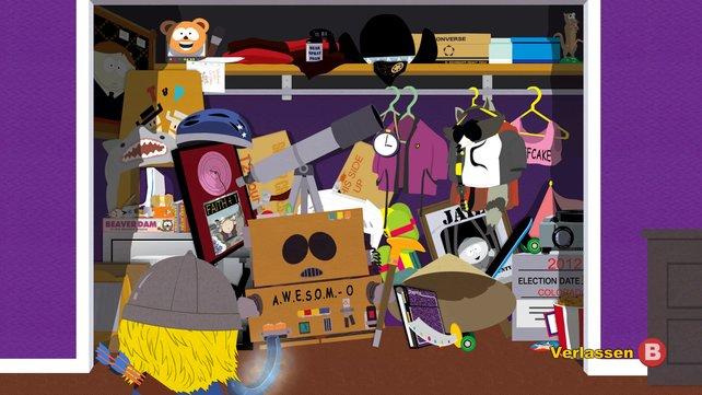 South Park - Der Stab der Wahrheit steckt voller Anspielungen auf die Fernsehserie.