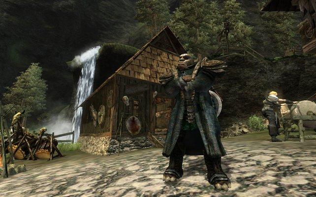 Orks beherrschen die Gothic-Lande. Hier hilft nur ein wagemutiger Held.