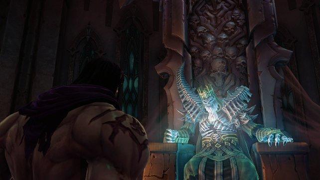 Kleiner Plausch unter Freunden: Tod und der König der Toten