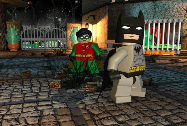 Batman & Robin, Helden der Nacht