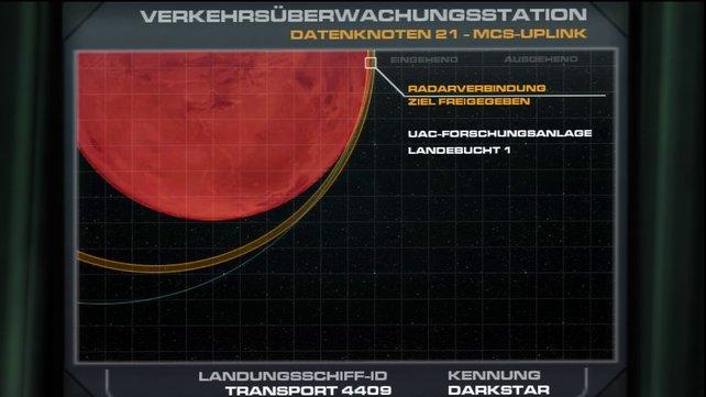 Bereits im Intro tauchen alle Texte auf Deutsch auf.