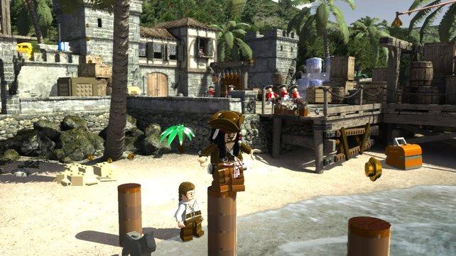 Die Lego-Welt fängt die Stimmung der Piratenfilme ein.