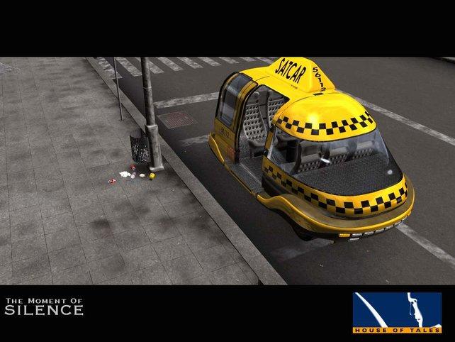 Satelliten-Taxis übernehmen das Fahren von A nach B