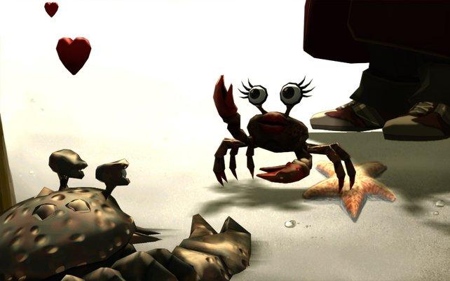 Krabbe sucht Frau - eines der besseren Rätsel.