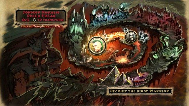 Die Karte für den neuen Quest-Modus.