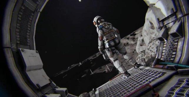 Alleine auf dem Mond. wirklich alleine ...?