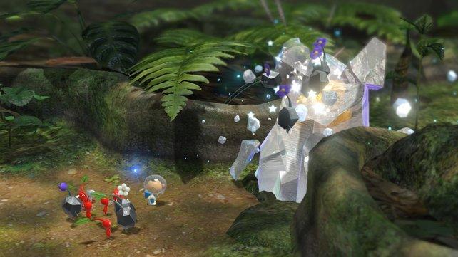 Pikmin 3 sollte ein Starttitel für Wii U sein, wurde aber verschoben.