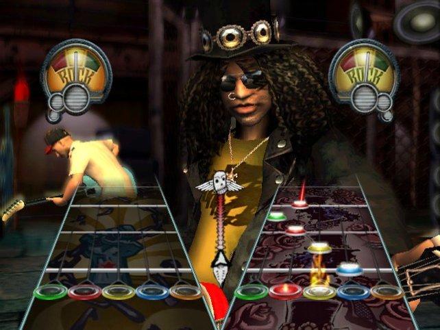Mit Slash im Duell, alles andere als einfach