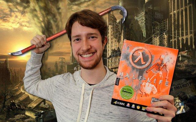 Lukas' Spiel für den Weltuntergang: Half-Life.