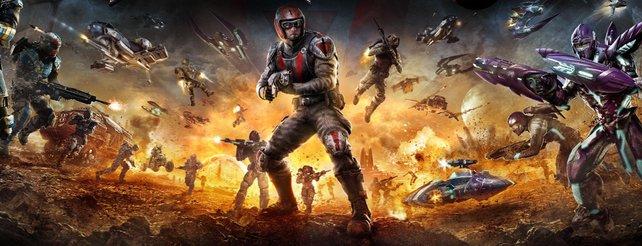 Planetside 2: Keine Mehrspieler-Duelle zwischen PC- und PS4-Spielern