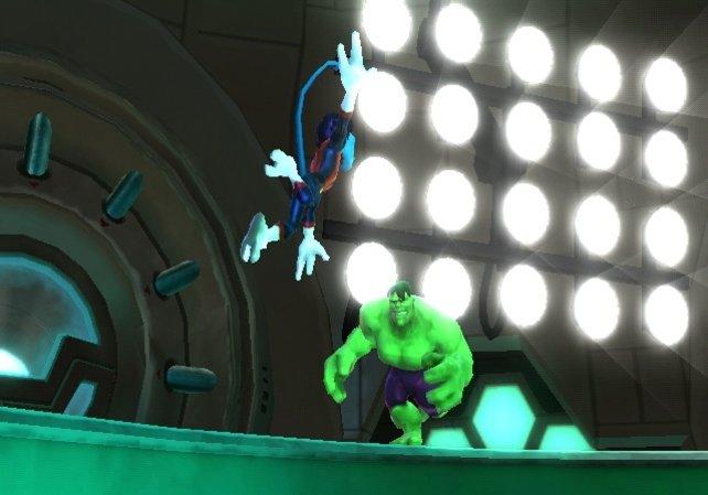 Im Rampenlicht: Hulk hasst Glühbirnen.