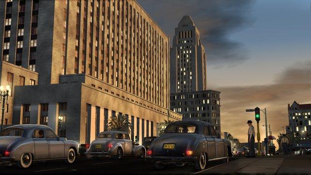 Das Los Angeles der 40er Jahre wurde aufwändig und liebevoll umgesetzt.