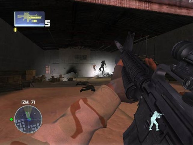 Die Granaten des M16 übersteht kein Feind.