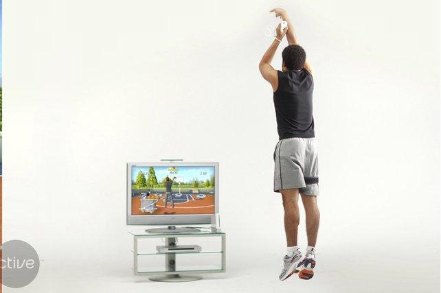 So sieht es aus, wenn ihr Basketball spielt...