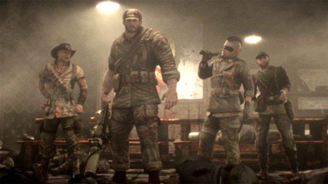 Die vierköpfige Truppe präsentiert sich brachialer als von der Serie gewohnt.