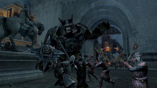 Sie haben einen Bergtroll: Kolossale Gegner in der Schlacht um Minas Tirith