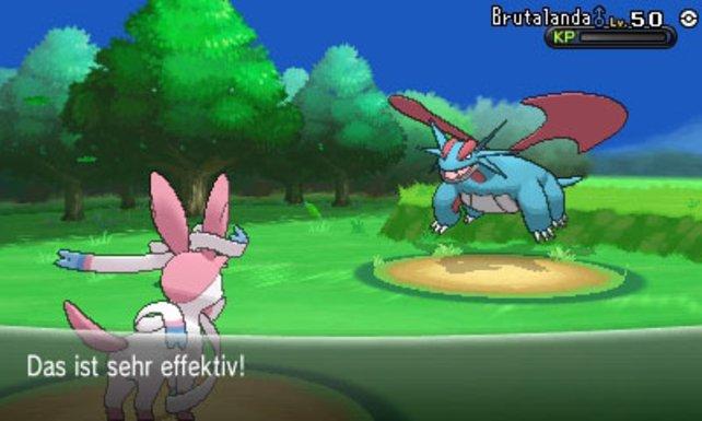 Beim Feen-Angriff haben vor allem die Drachen-Monster zu knabbern.